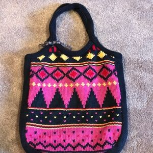 American Eagle knitted Tote